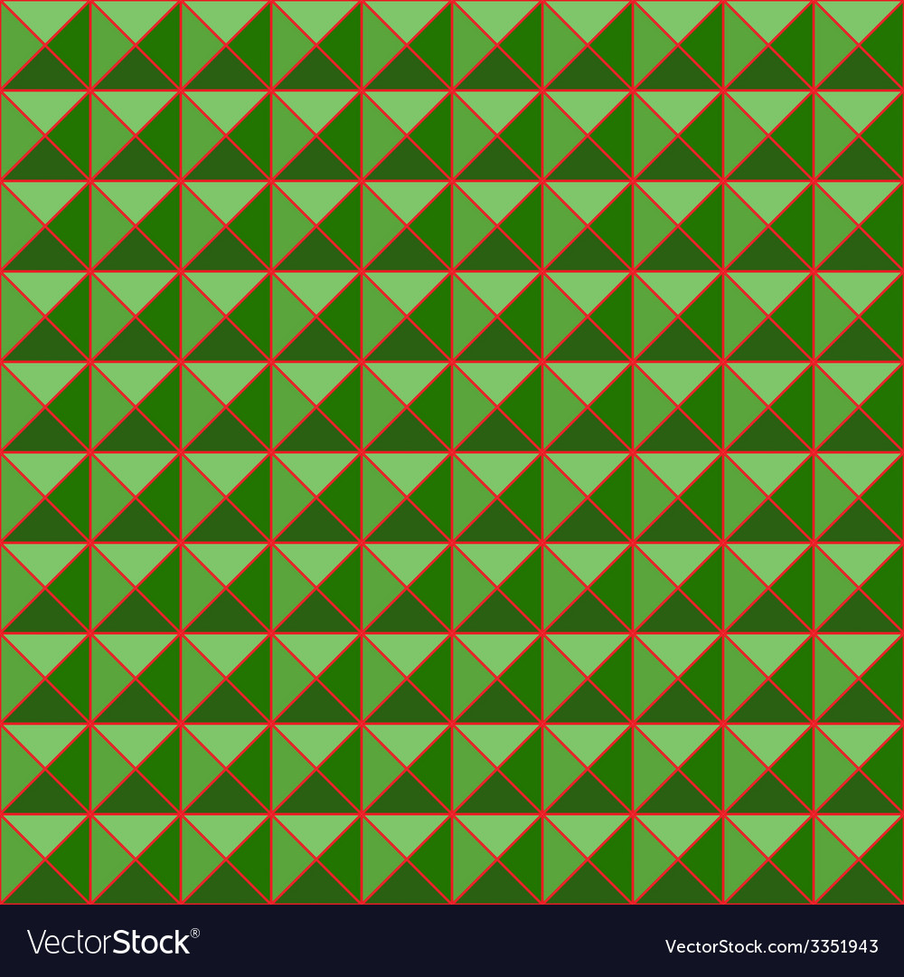 Green studs seamless texture background vector image