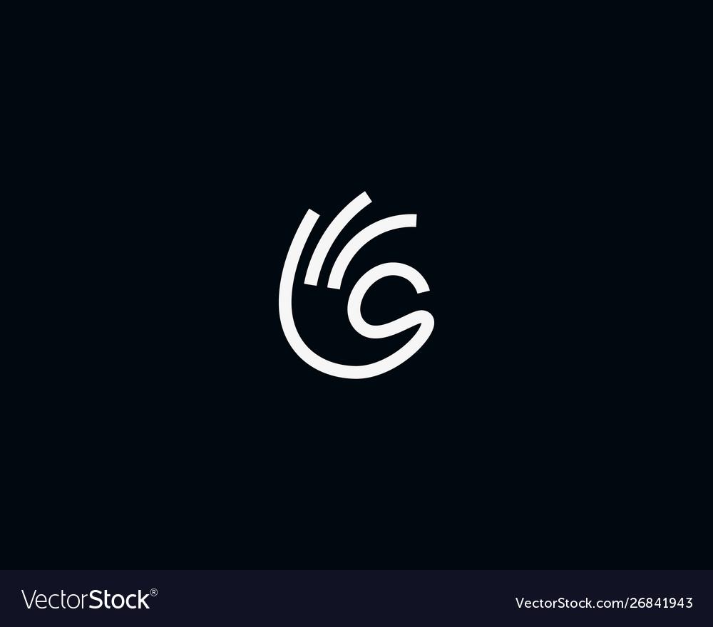 Ok fingers logo design modern minimal style
