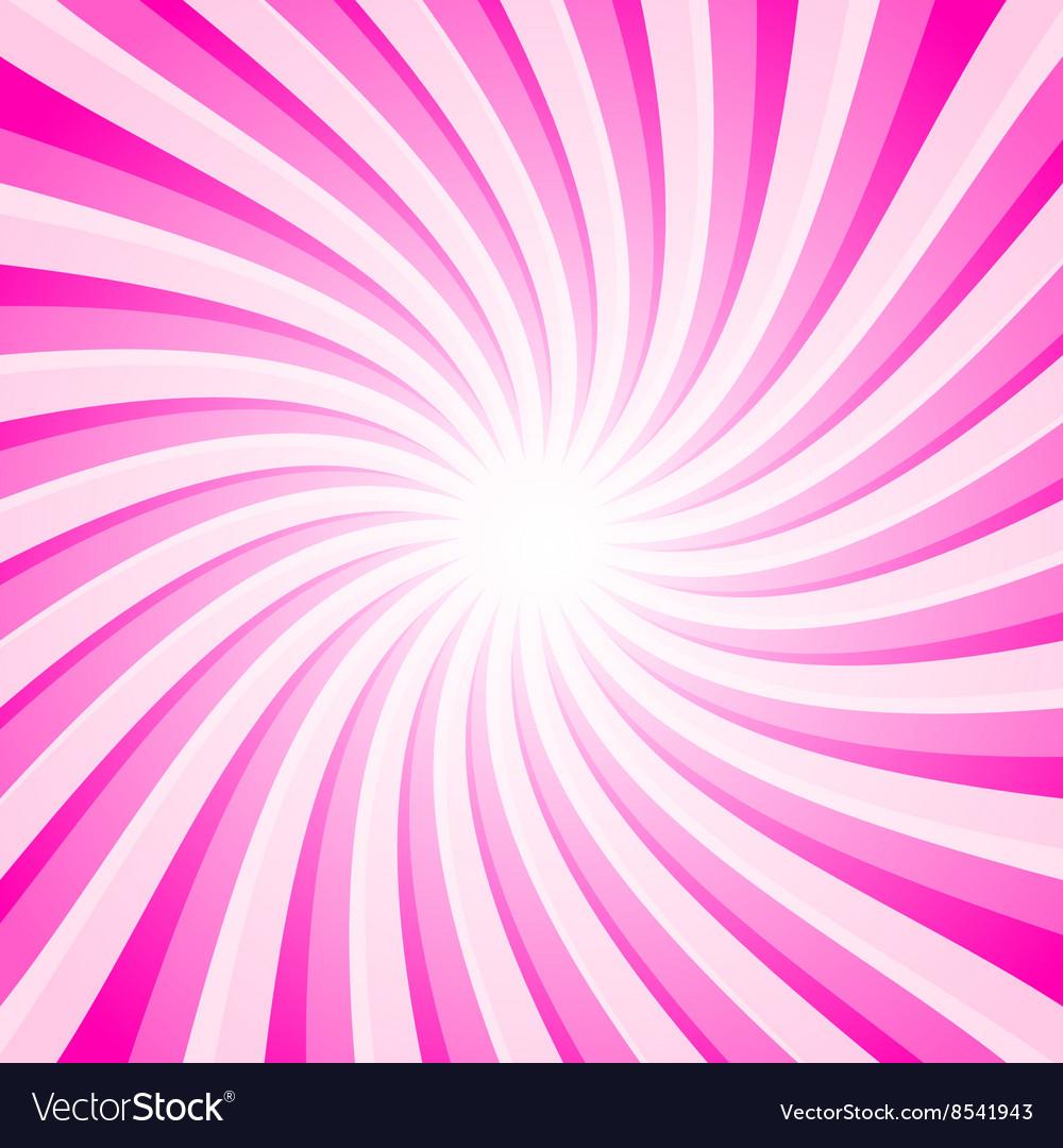 Pink Background - Spiral - Star Shape Pattern