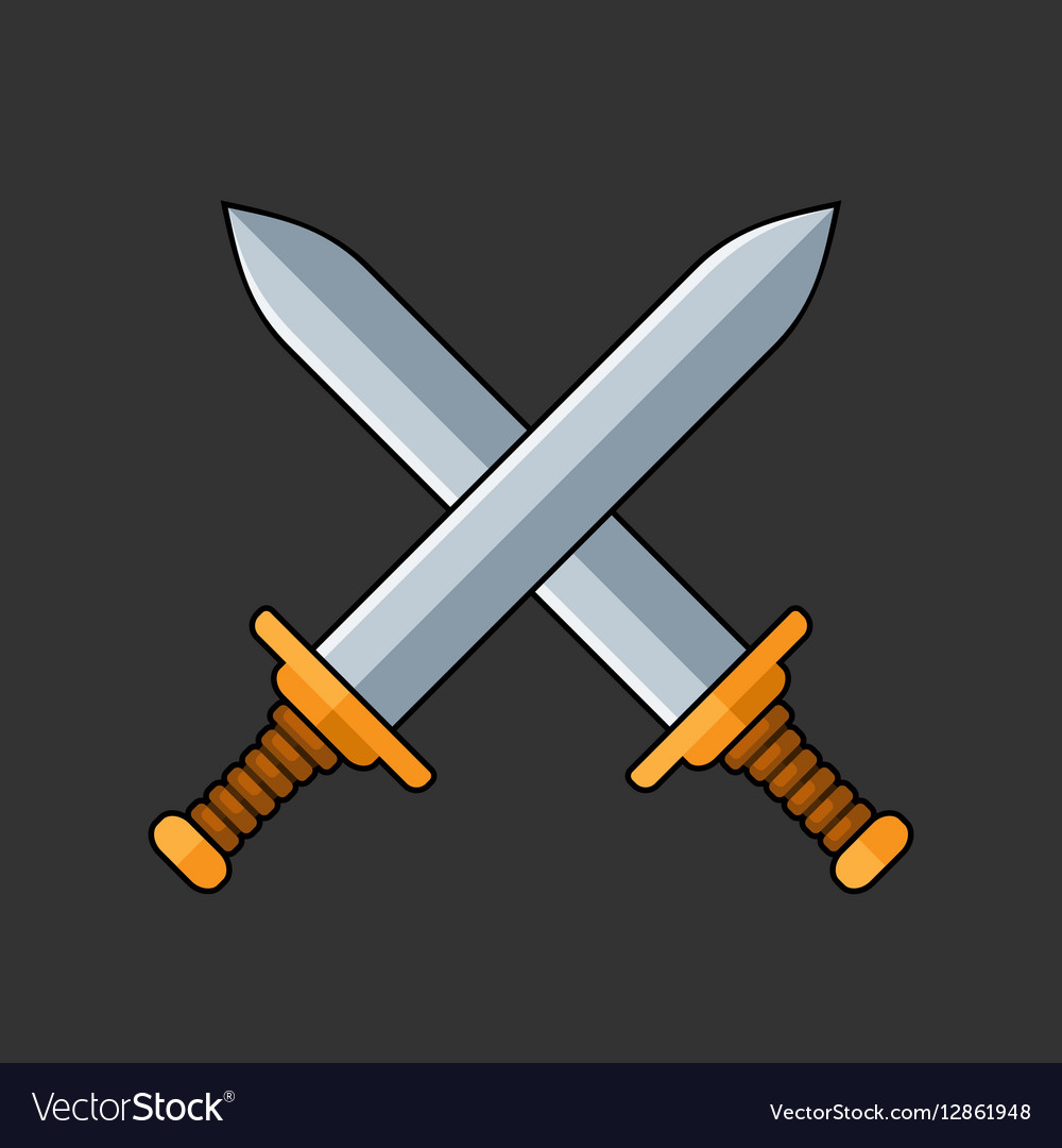 Two Crossed Swords Icon