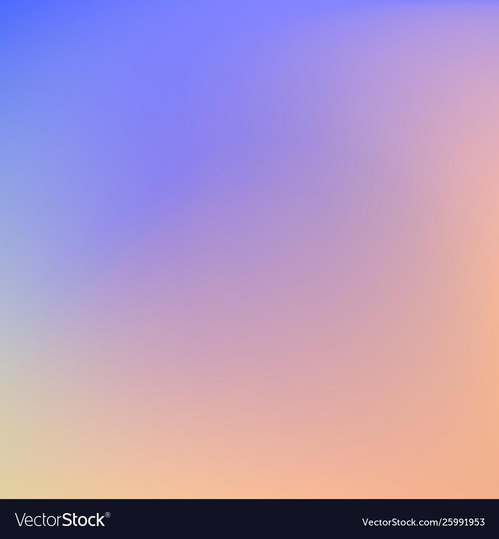 Abstract soft color blend background orange