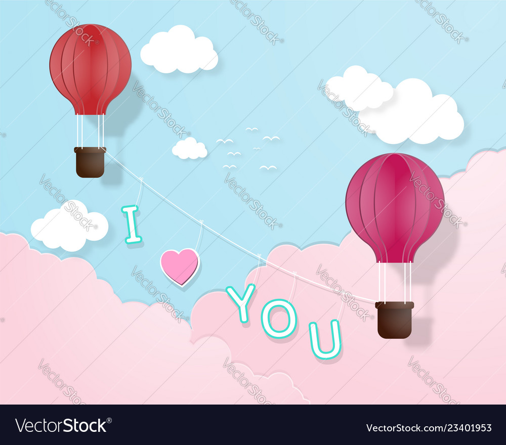 Creative love invitation card valentines day