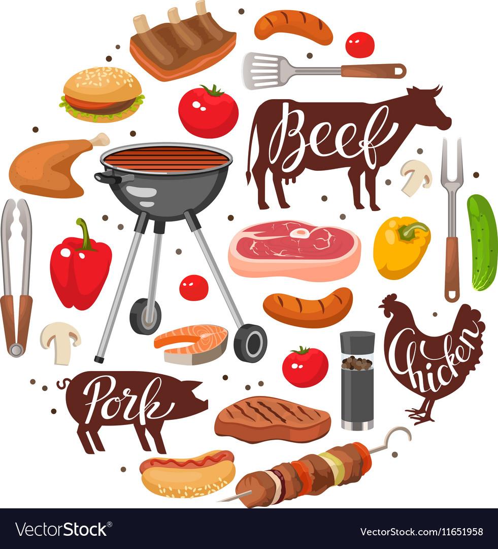 BBQ Essentials Round Composition