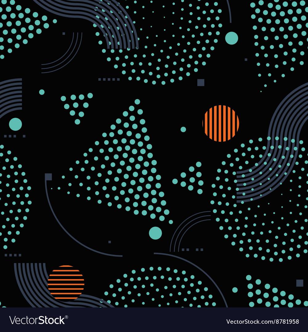 Seamless pattern Universal repeating geometric vector image