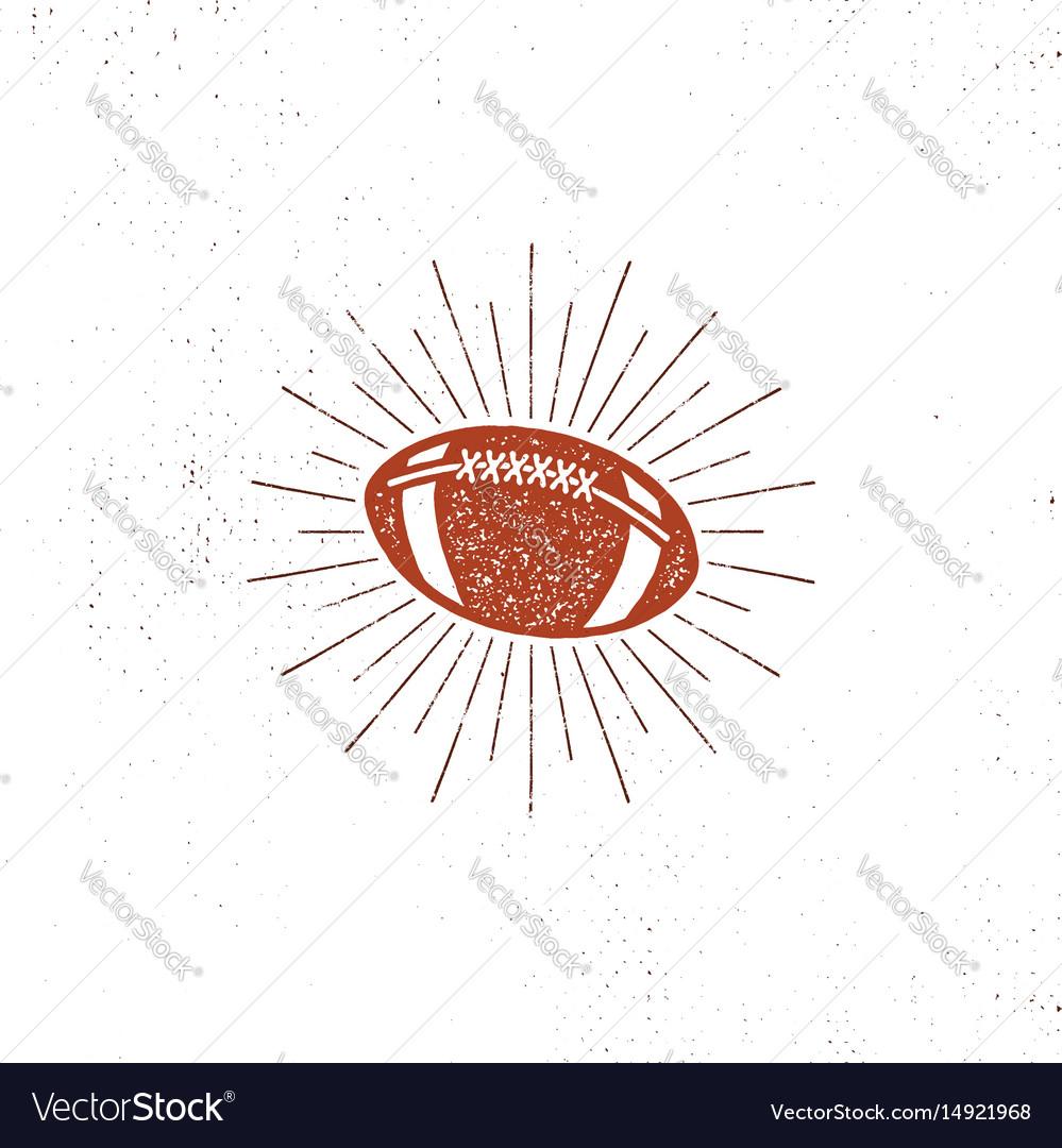 American football bal icon