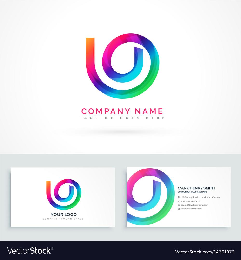 Abstract logo design concept