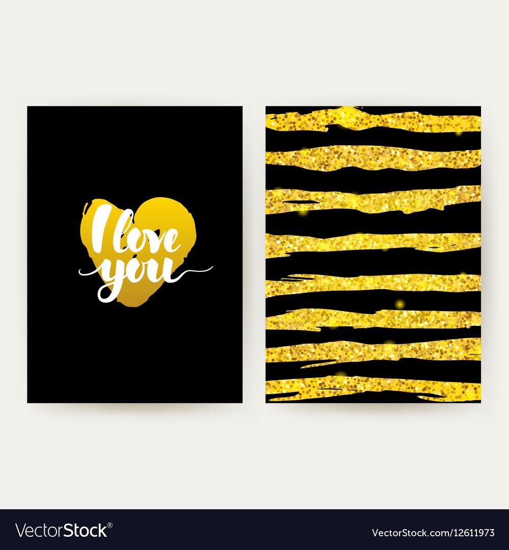 I Love You Retro Posters