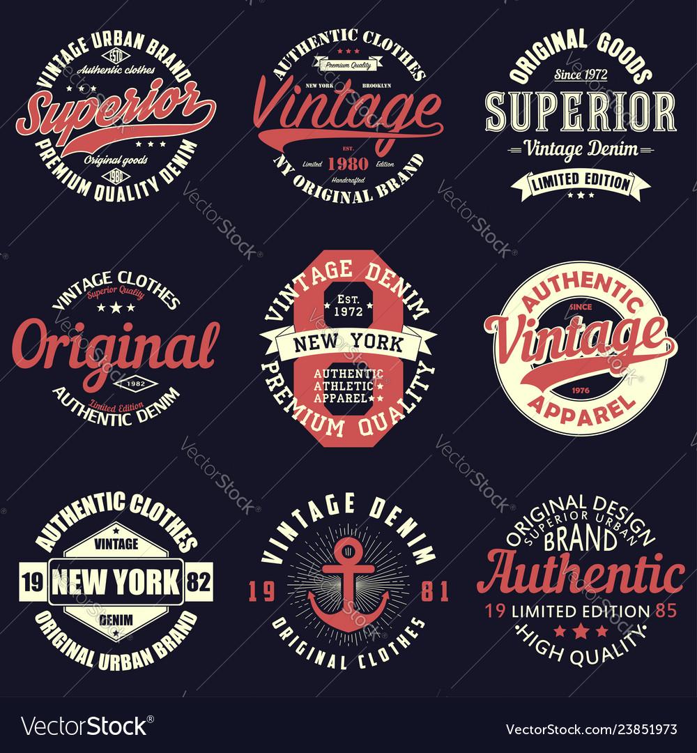 Vintage t-shirtl set