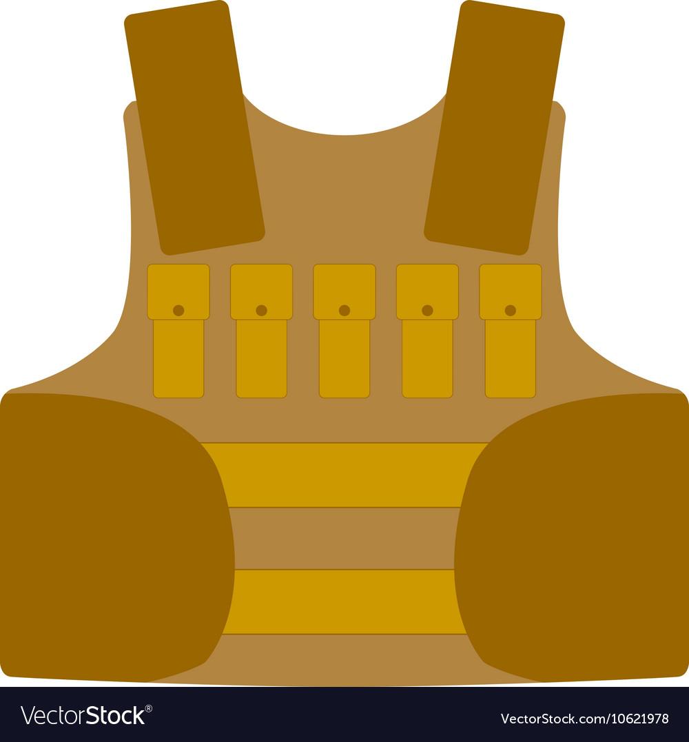 Bullet proof vest body armor suit