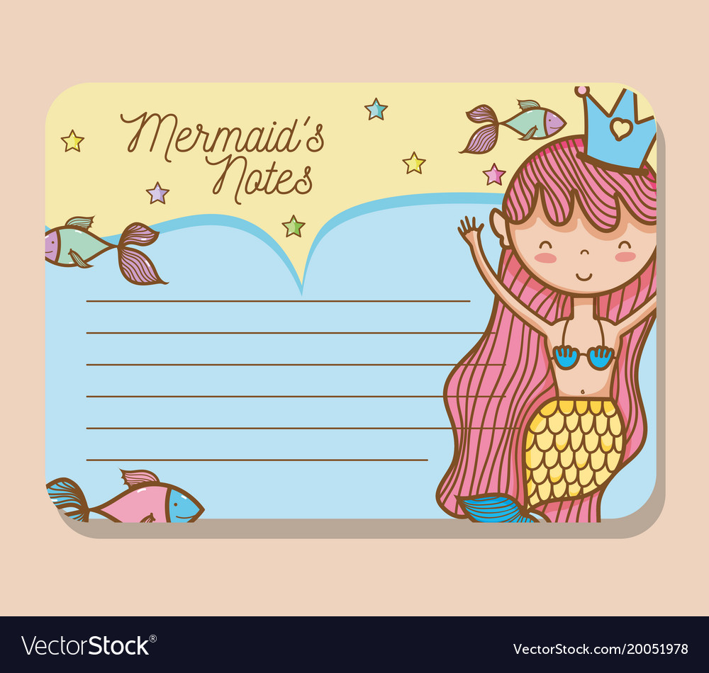 graphic relating to Printable Mermaids known as Mermaids printable sheet vector impression upon VectorStock