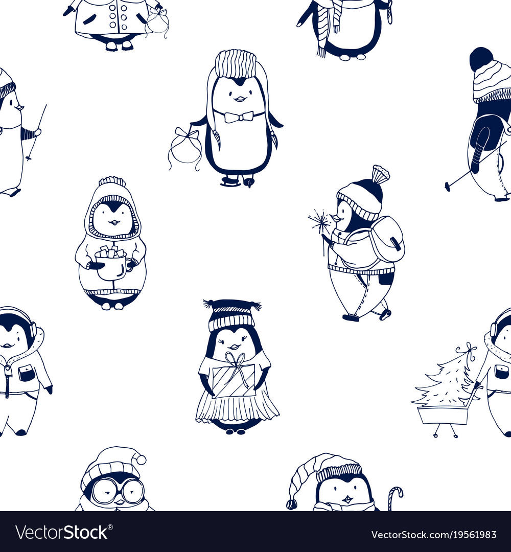 Childish seamless pattern with cute little baby