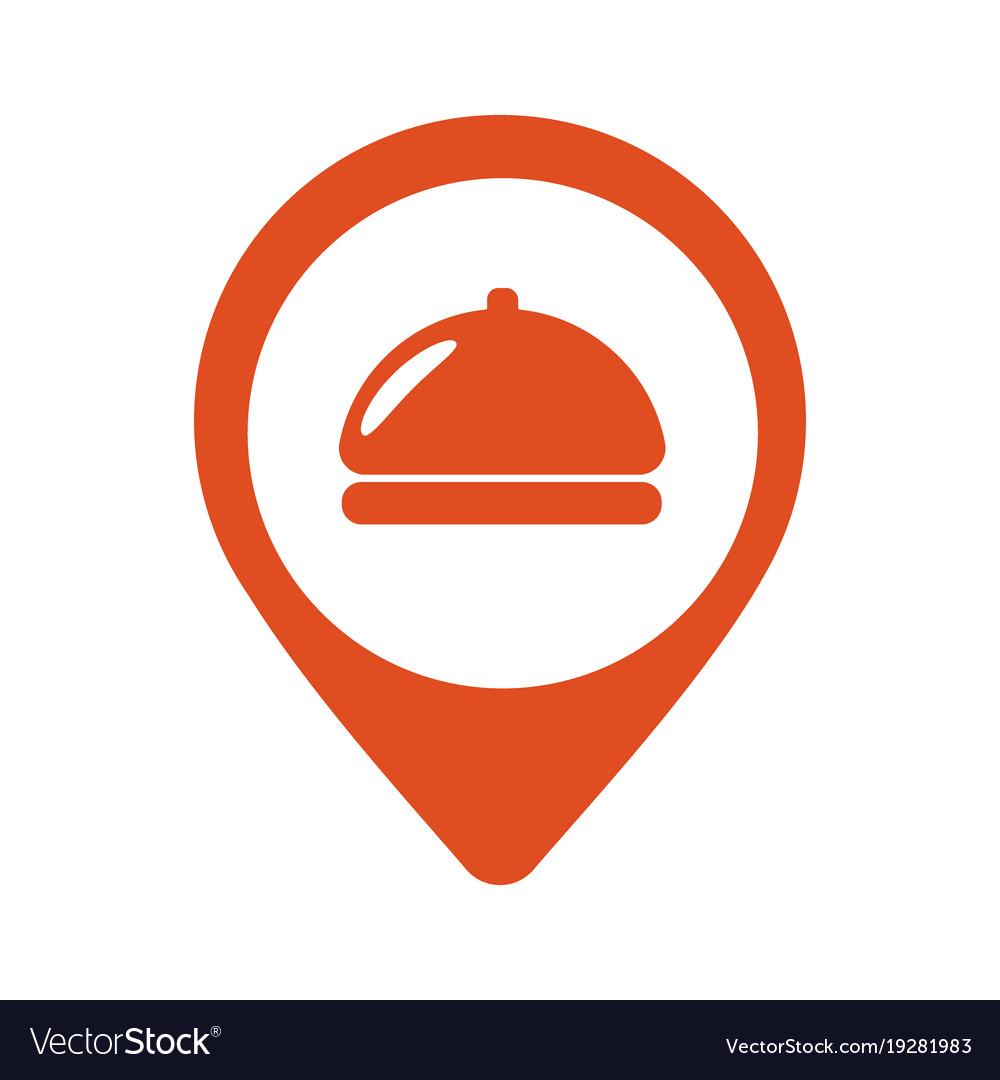 Fod Icon Restaurant Location Pin Icon