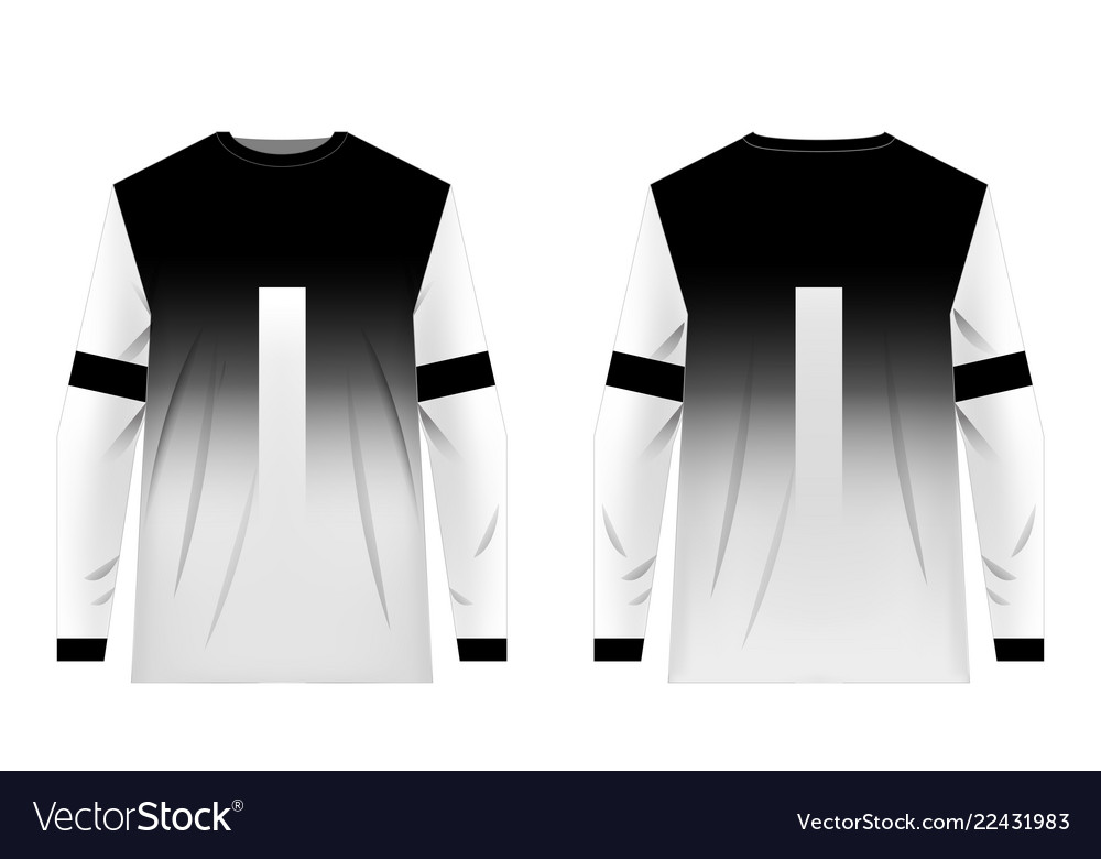 Jersey Templates Design Royalty Free Vector Image