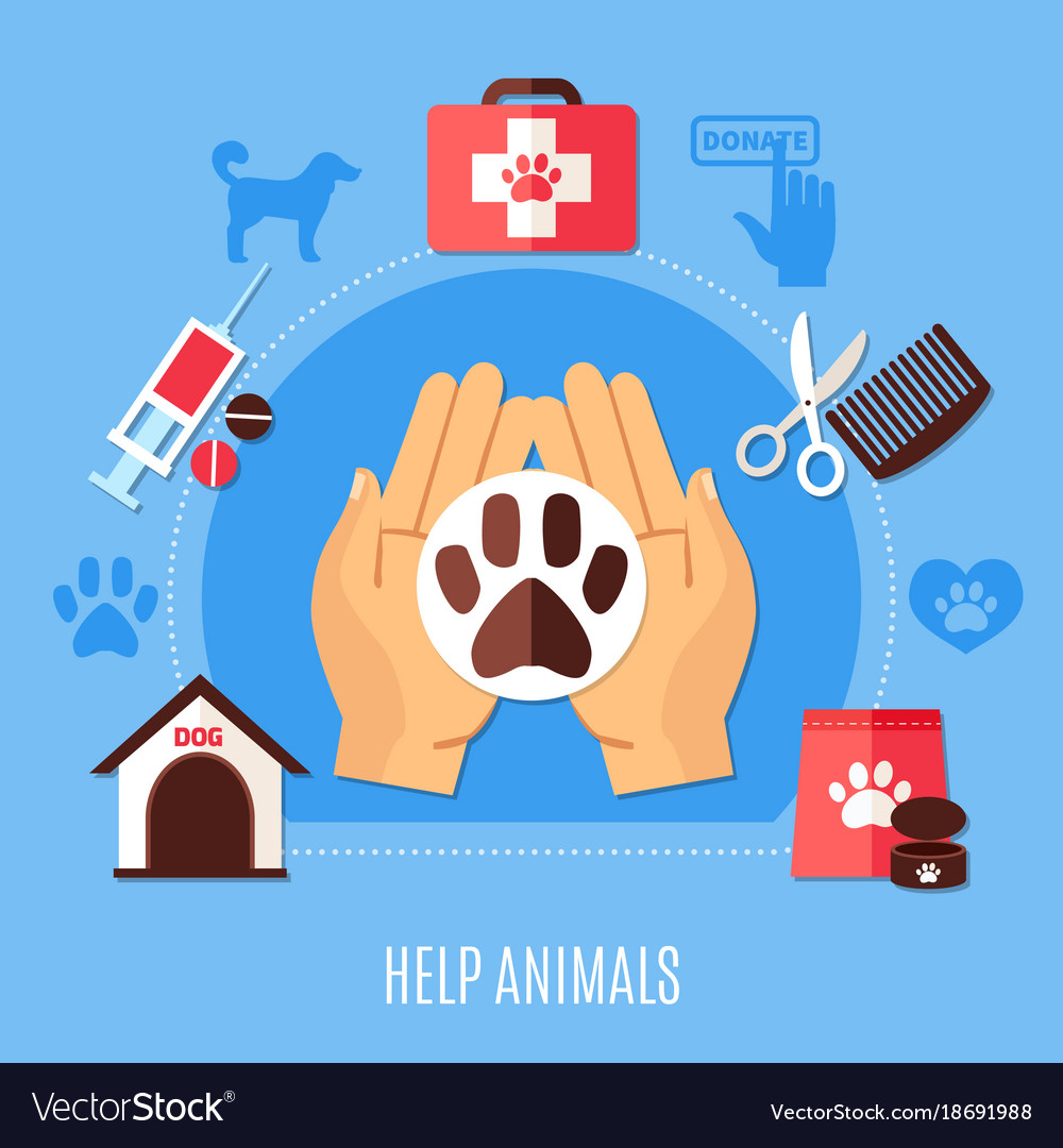 Animal protection volunteering composition