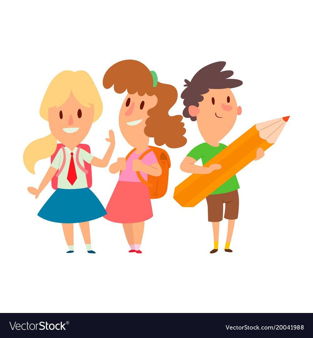 Cartoon school child study free vector download (18,901 ...