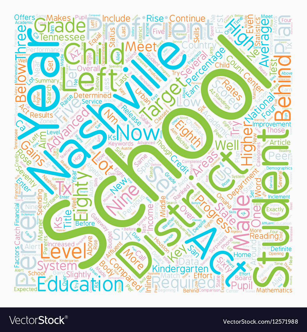Nashville Schools Release Data and Makes Plans for