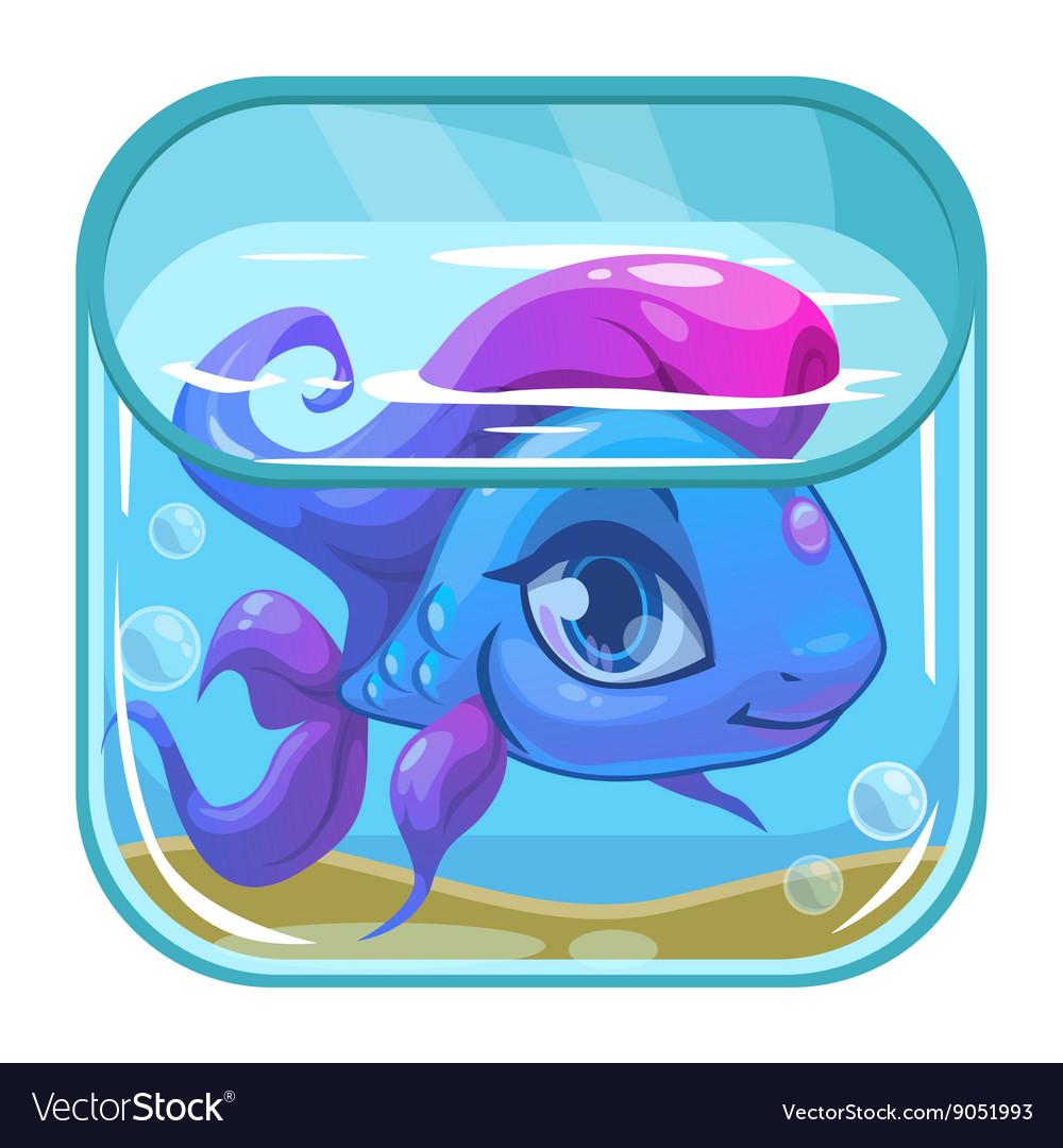Aquarium game app icon