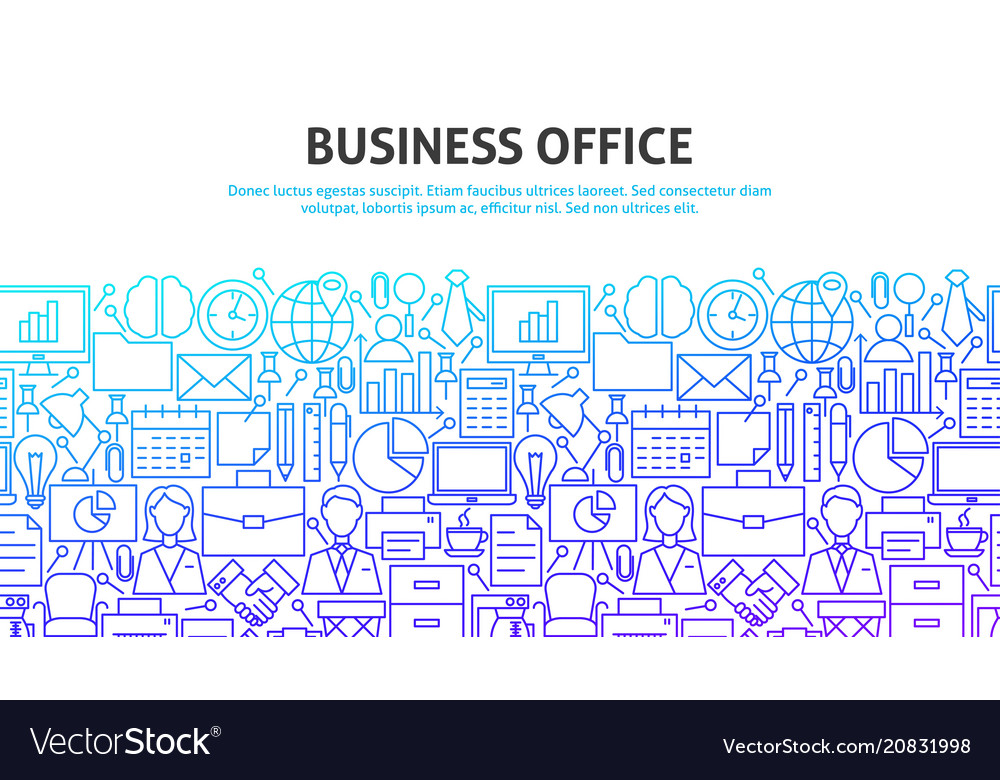 Business office concept
