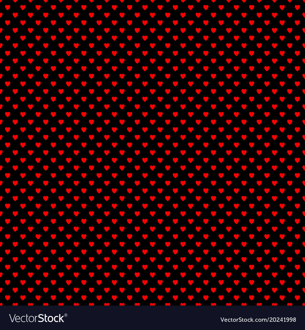 Repeating heart pattern background - valentines