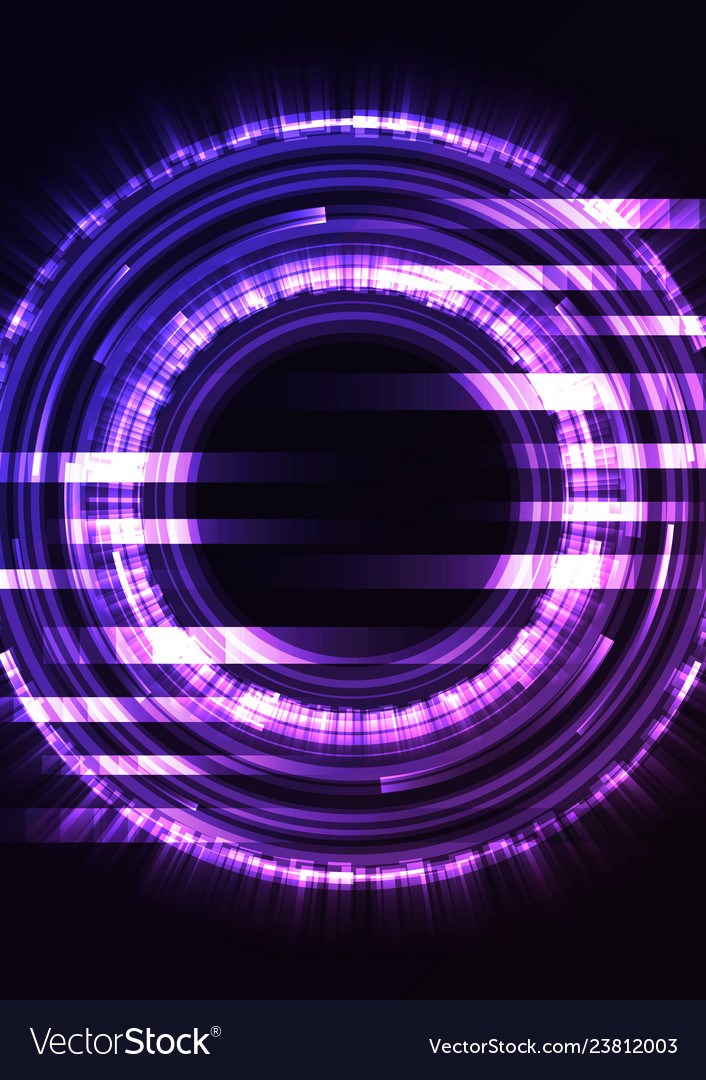 Purple circle digital abstract pixel background