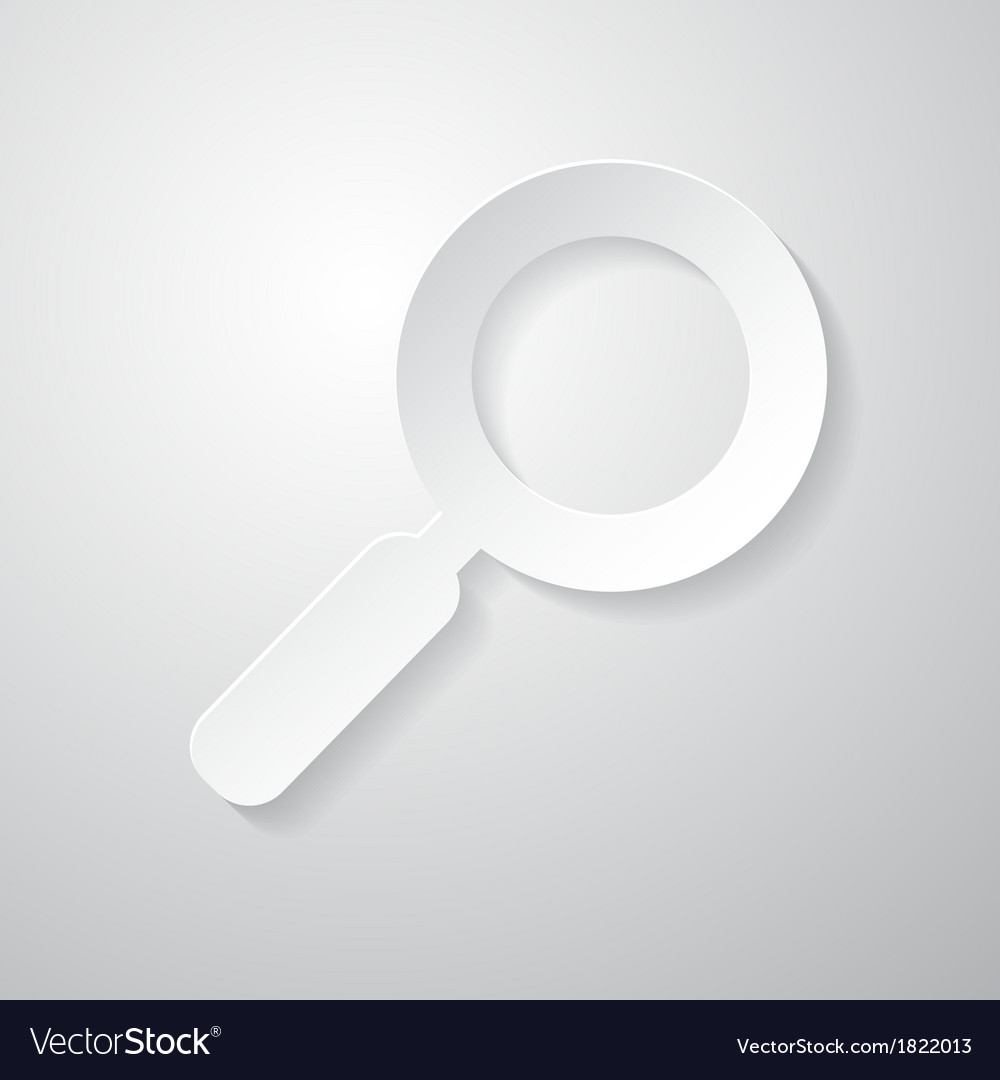 Paper Abstract Magnifying Glass