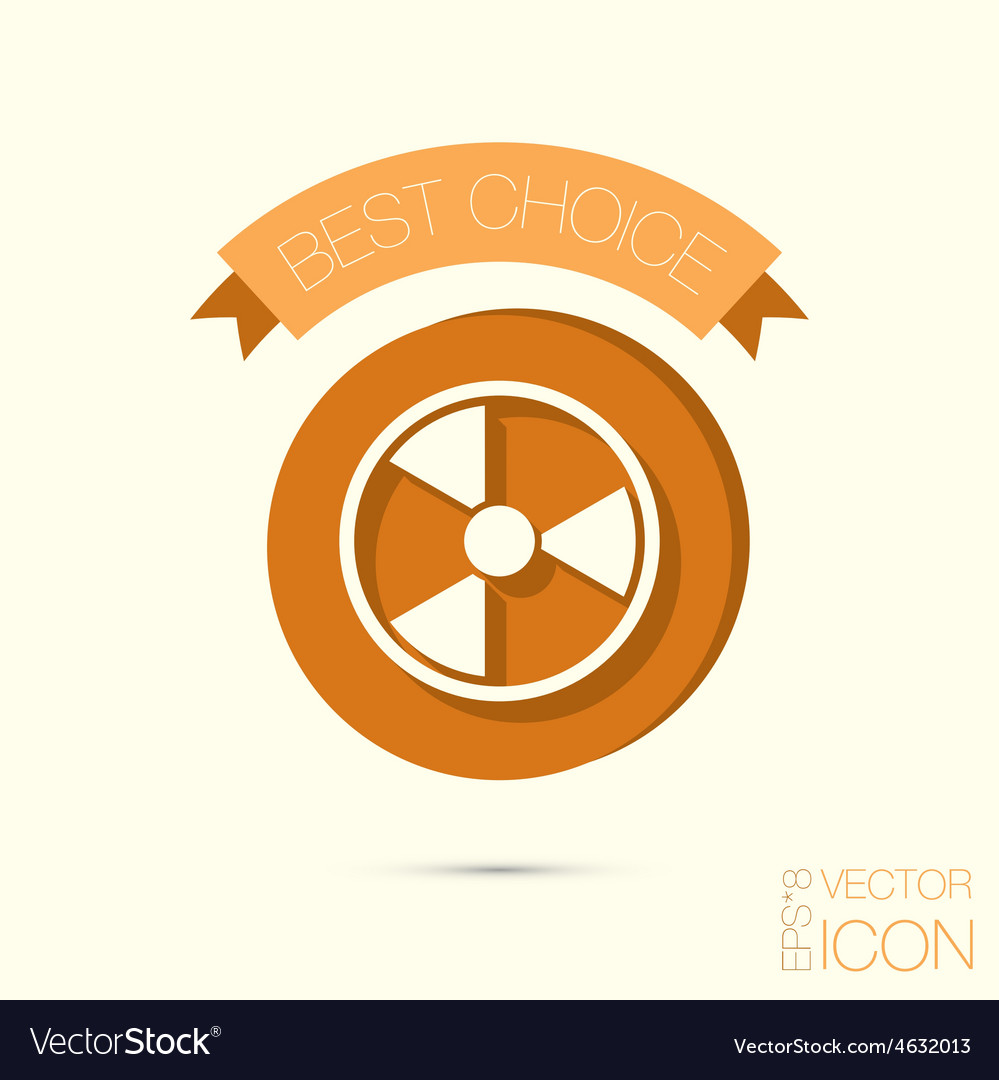 Symbol Of Nuclear Danger Royalty Free Vector Image
