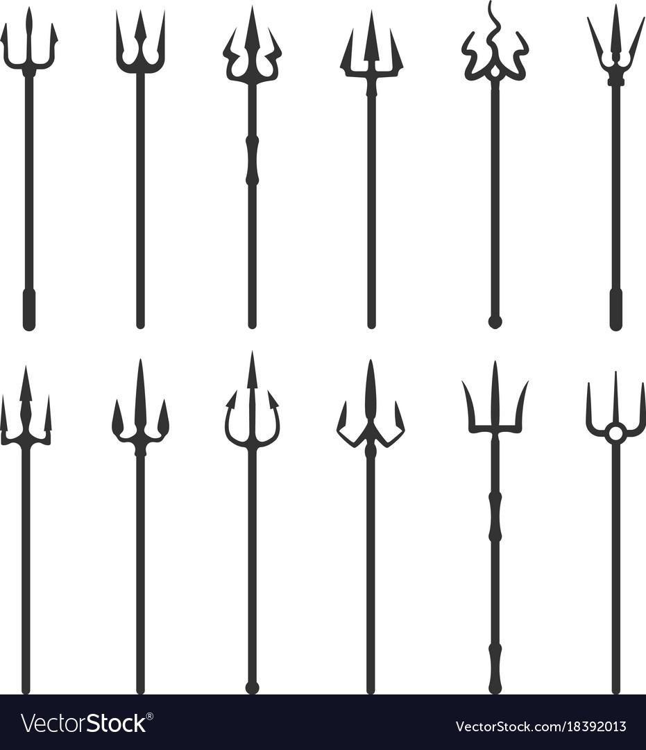 Tridents symbol set