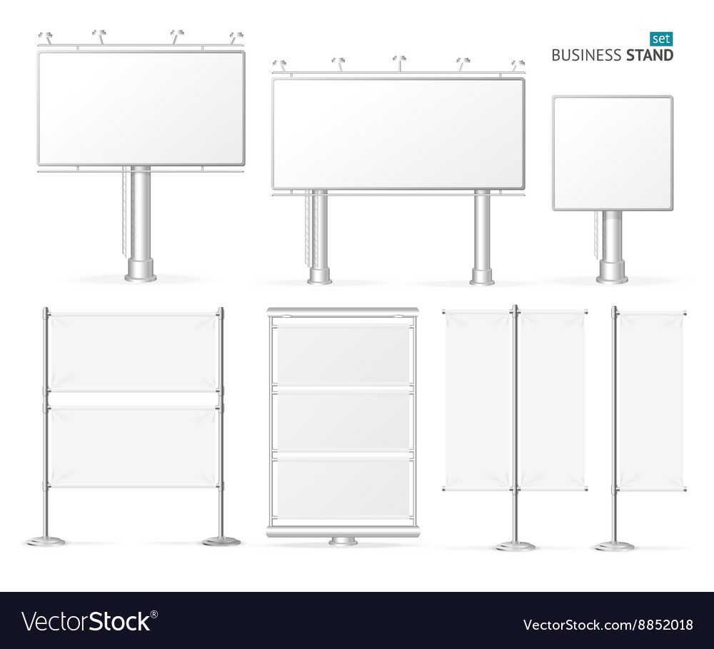 Blank Business Stand Set