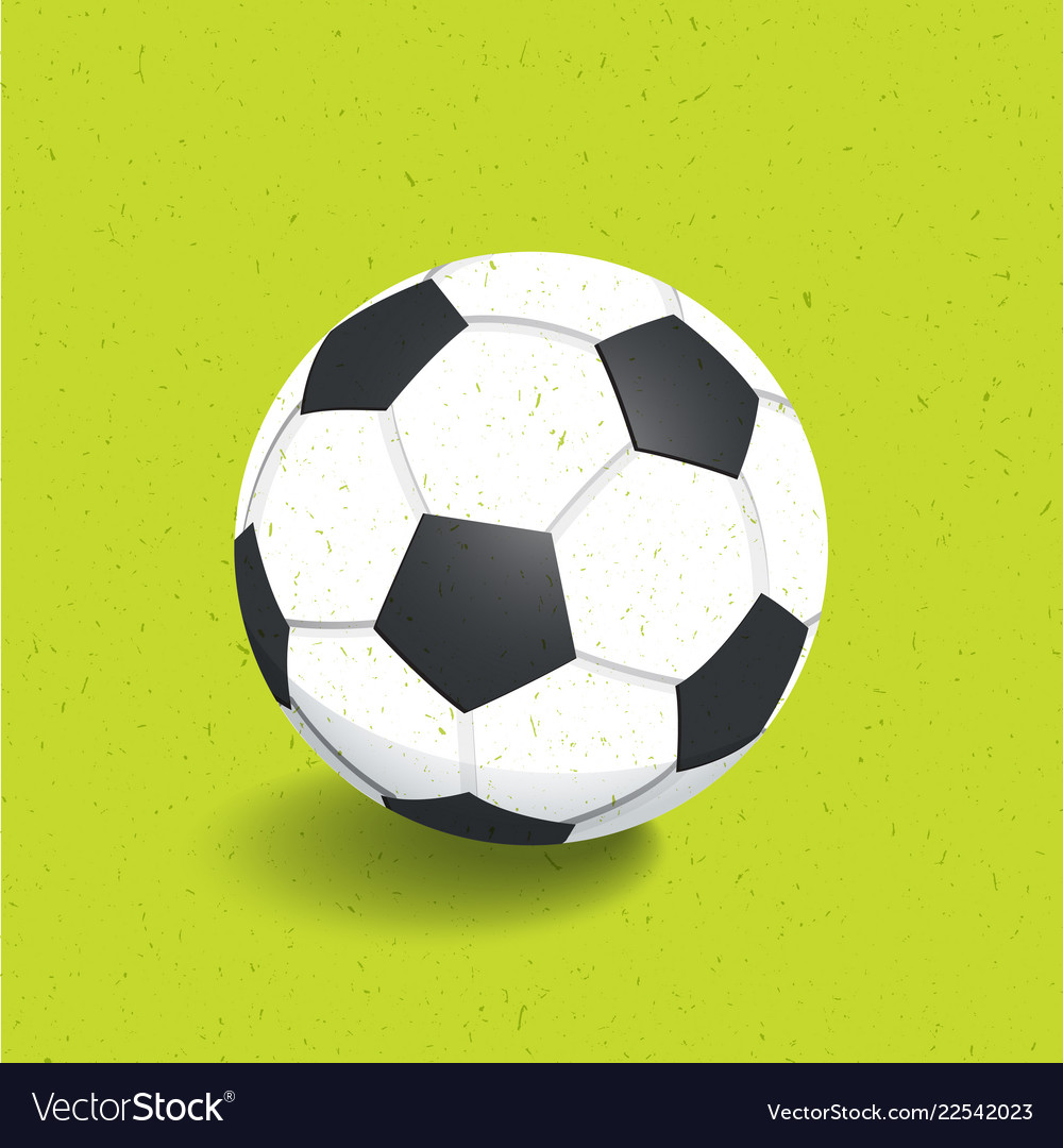 Football soccer ball icon