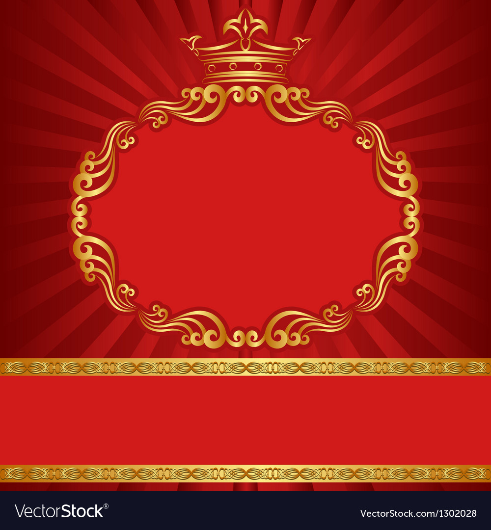 Royal background Royalty Free Vector Image - VectorStock