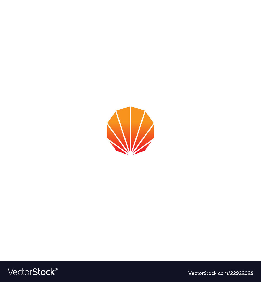 Shell abstract design logo