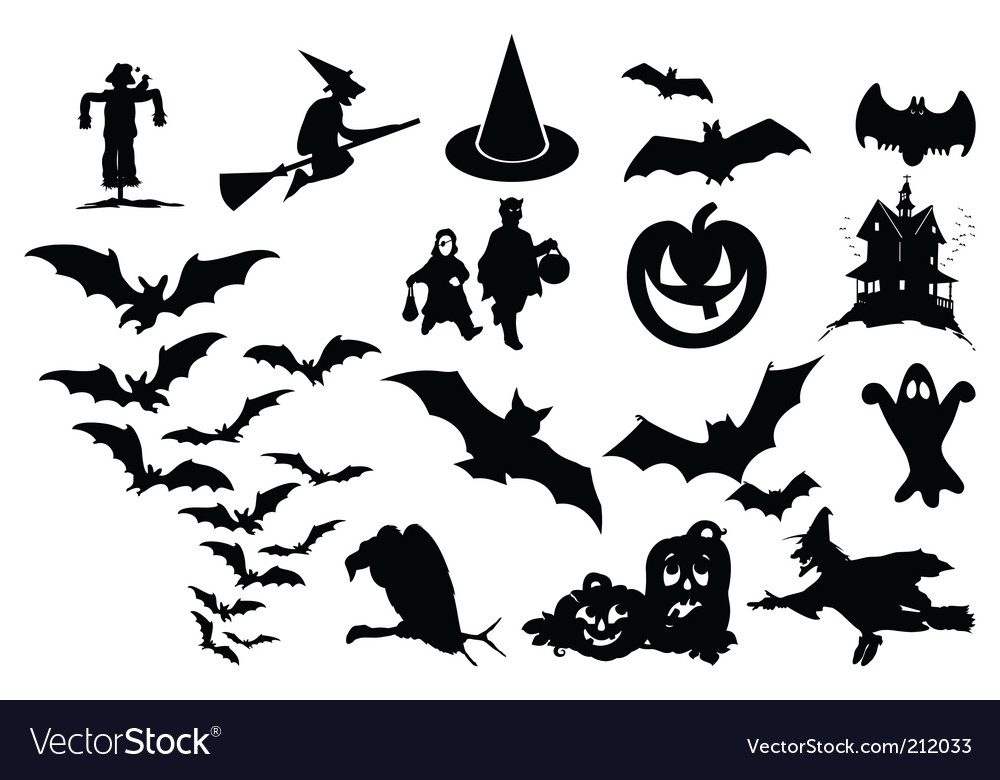 halloween royalty free vector image vectorstock rh vectorstock com Dracula Halloween Cartoon Vector Free free halloween vectors for commercial use