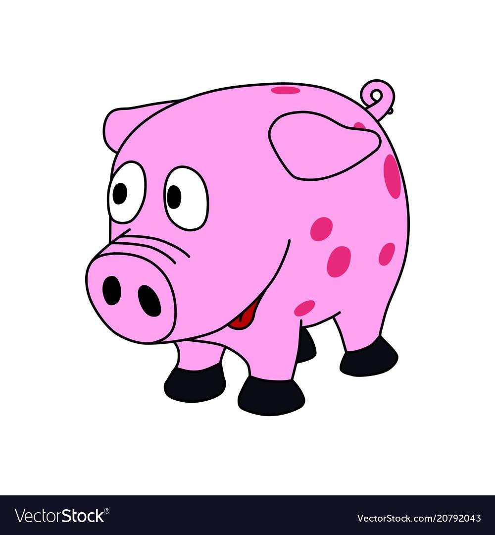 Sweet little pink piggy