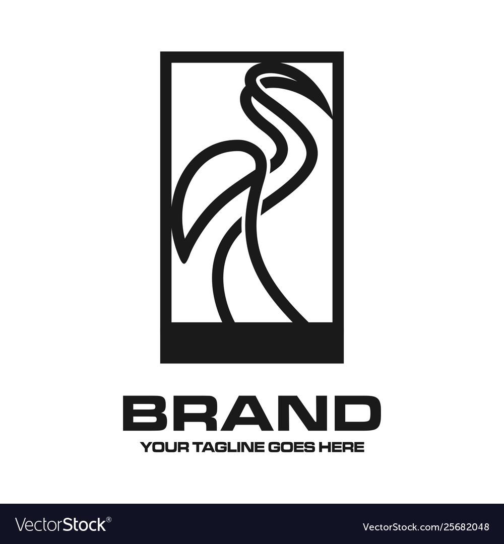 Crane outline logo