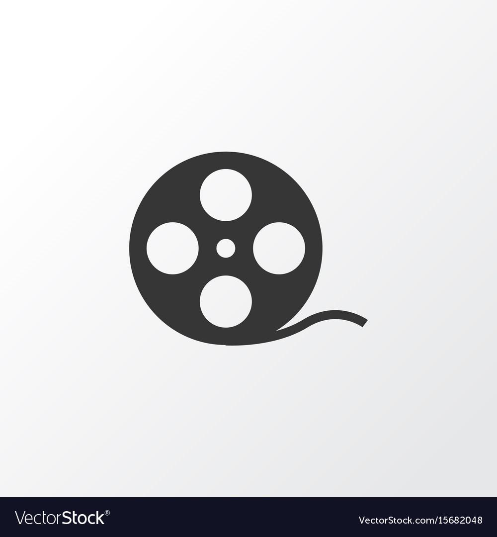 Film reel icon symbol premium quality isolated