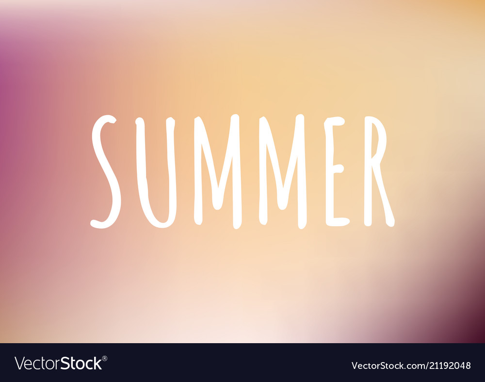 Gradient pattern background with text summer