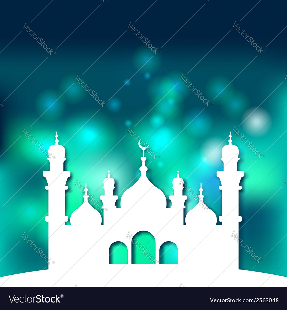 Mosque Islamic background