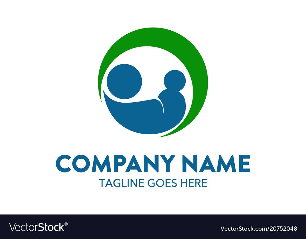 Unique childcare logo