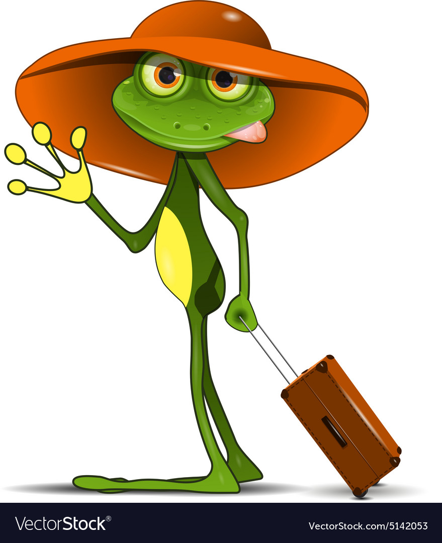 Прикольные картинки лягушка путешественница, картинки