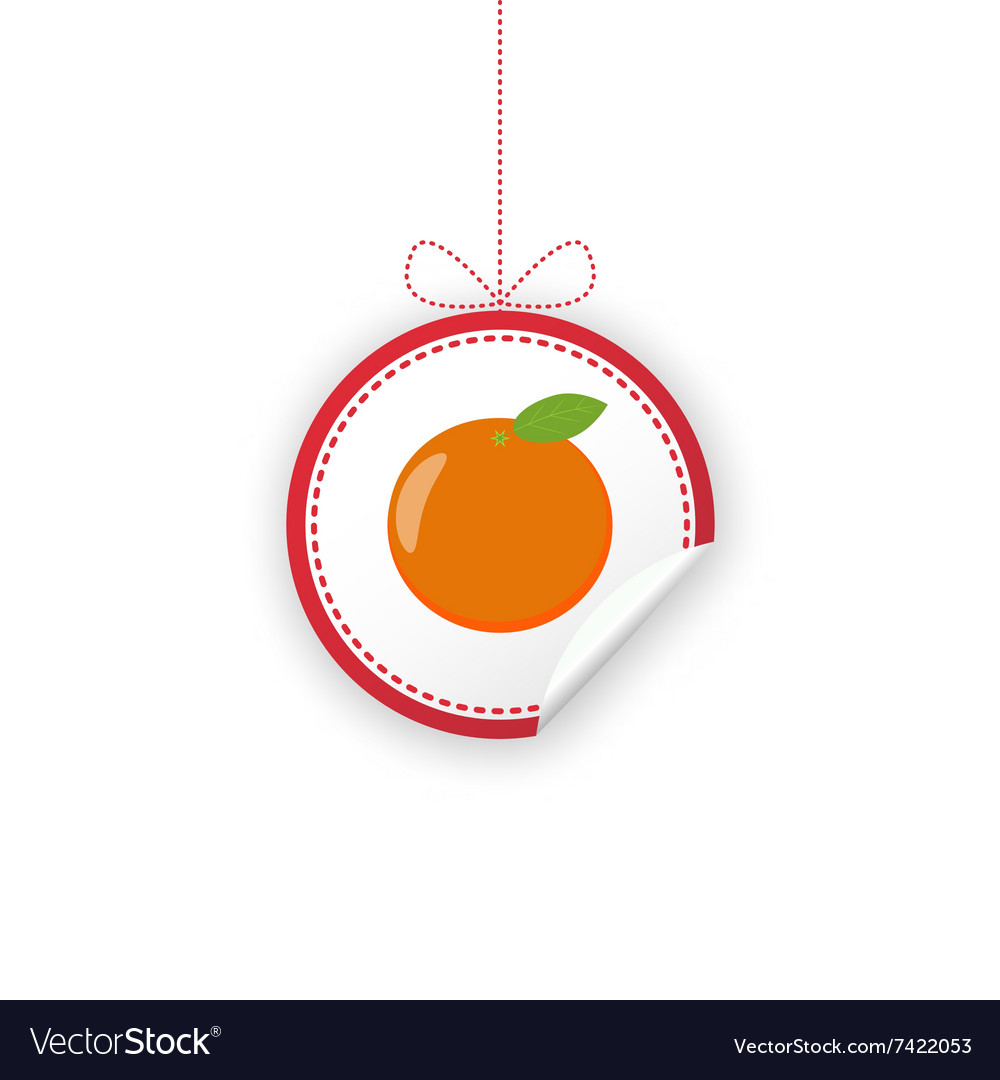 Label for Christmas gifts sales product Royalty Free Vector