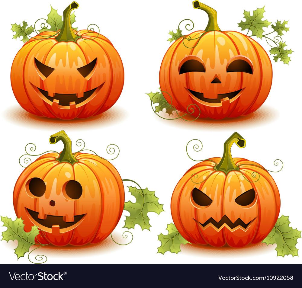 Pumpkin set for Halloween