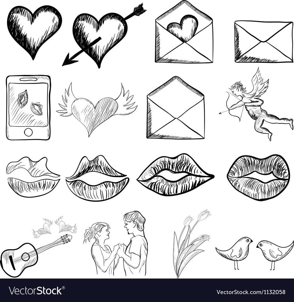 Valentines day sketch
