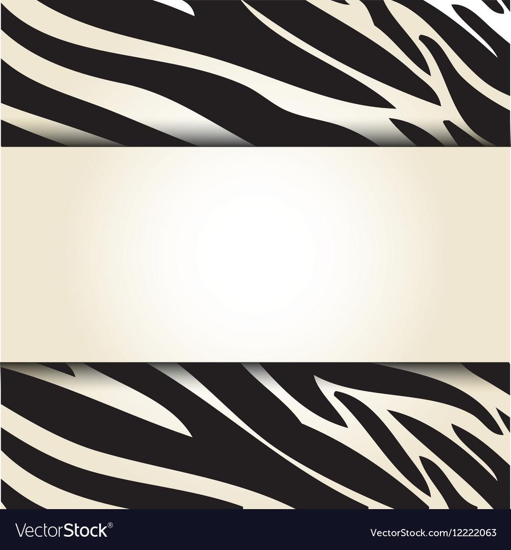 Animal print pattern image