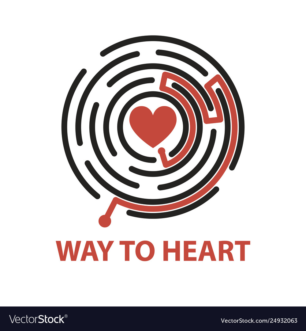 Way to heart in maze