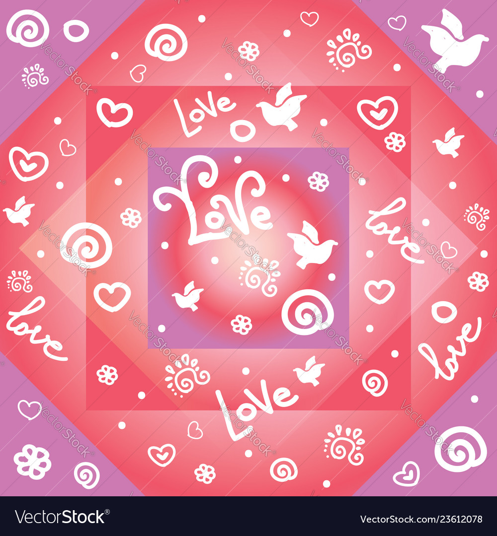 Seamless valentines day pattern 4