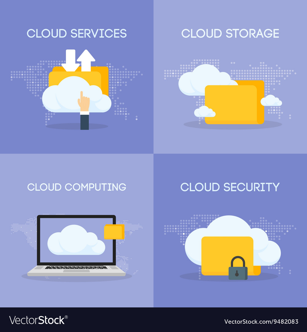 Cloud coputing storage service and security banner