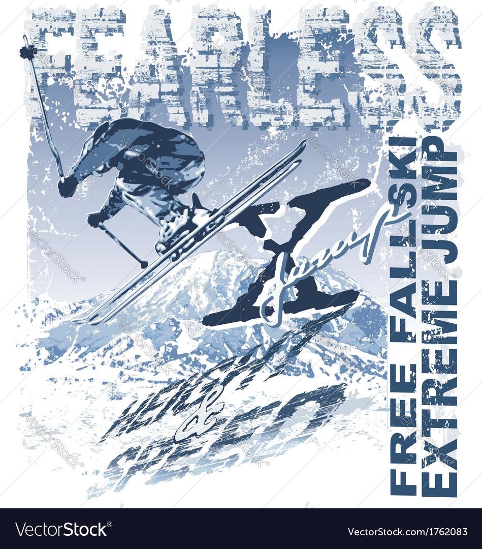 Ski Free Fall