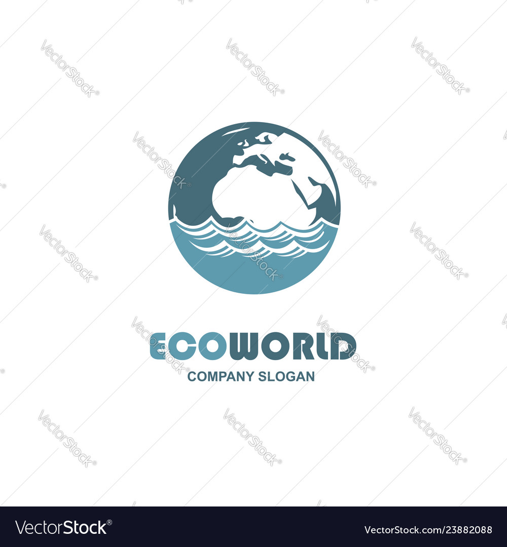 Abstract earth icon
