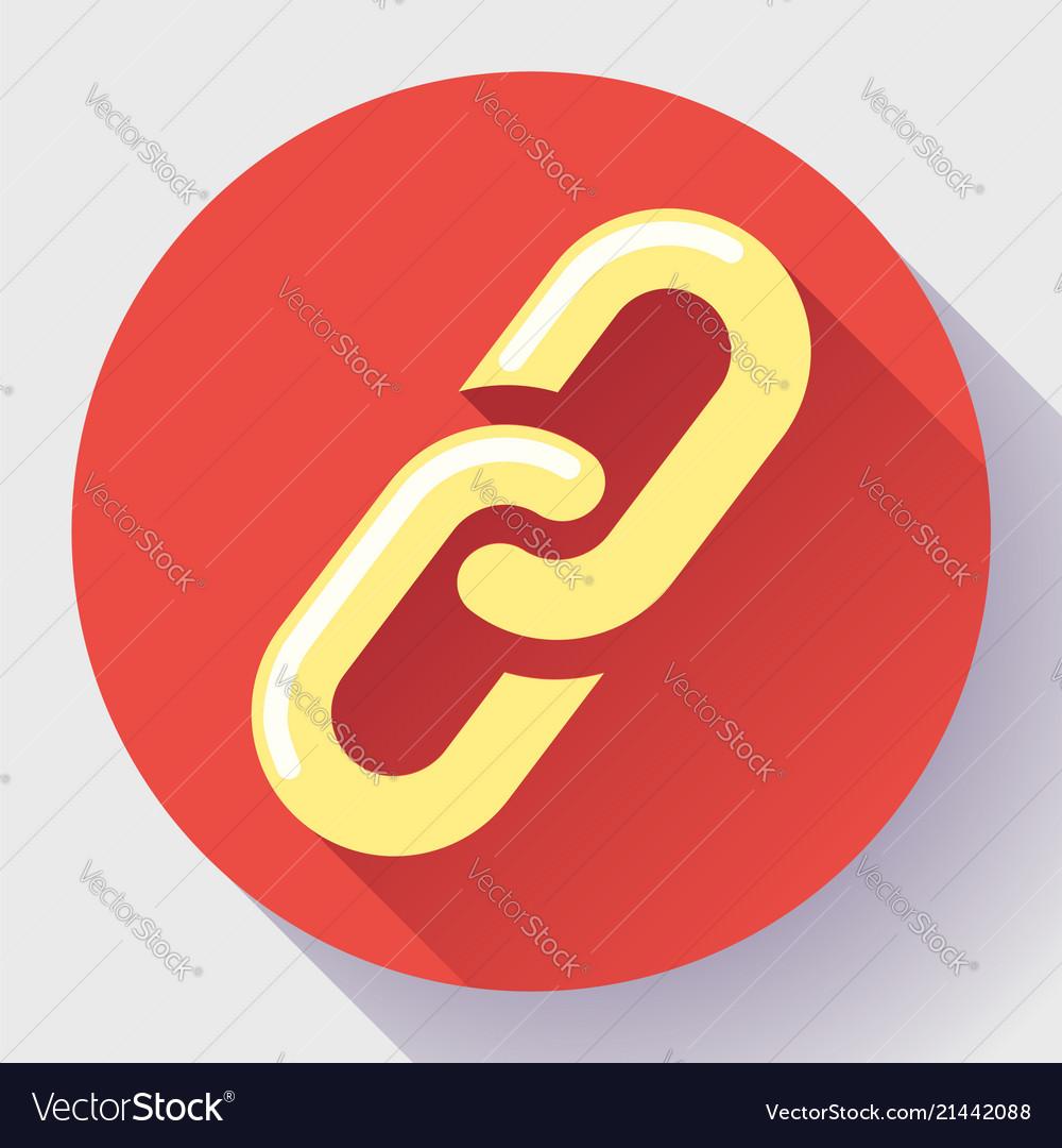 Link icon hyperlink chain symbol link