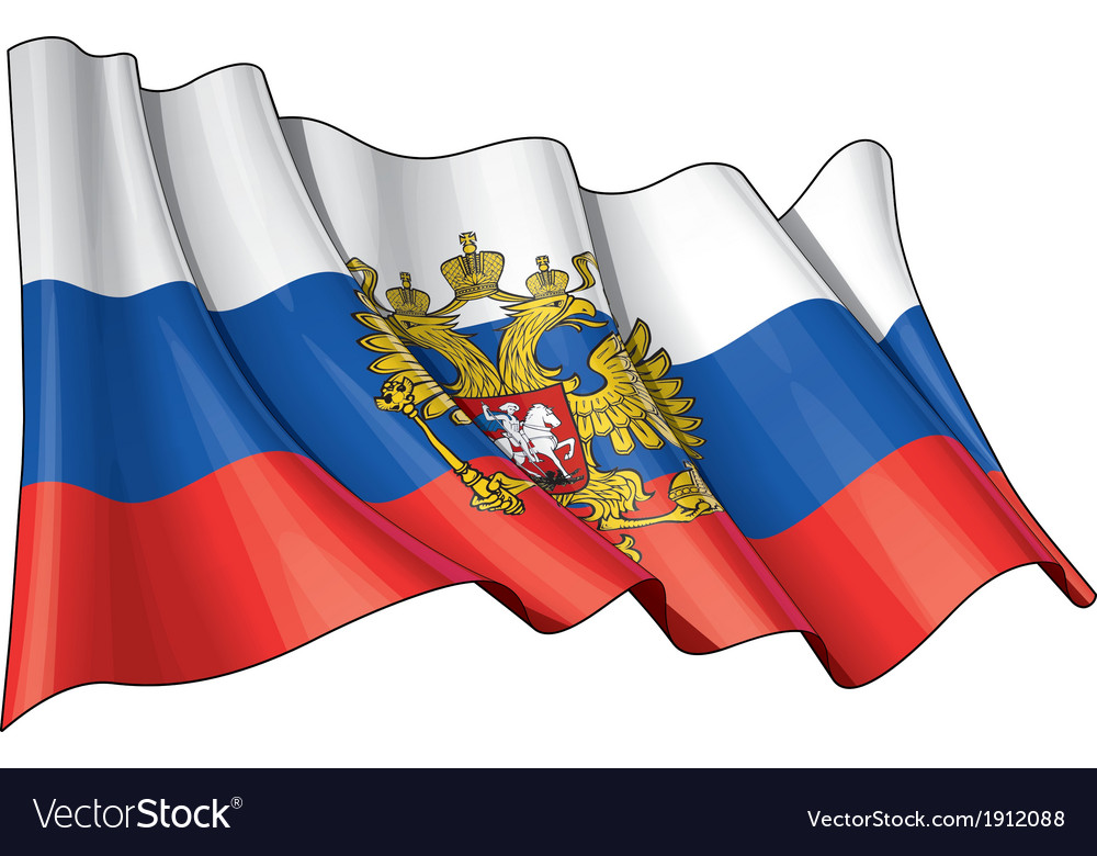 Russia state flag